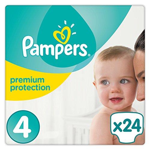 Preisvergleich Produktbild Pampers Premium Protection Windeln, Gr. 4 Maxi (9-14 kg), 4er Pack (4 x 24 Stück)