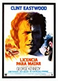 The Eiger Sanction - Clint Eastwood - Spanish Movie Wall