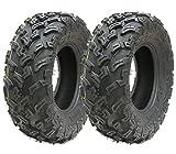 2 - Neumáticos cuádruples 26X9-12 6ply neumáticos ATV 7psi E marcado neumáticos legales de carretera