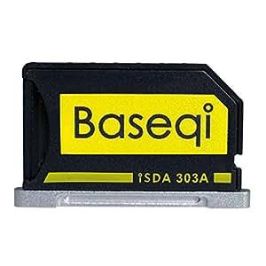 BASEQI aluminum microSD Adapter for MacBook Pro Retina 13, Model: iSDA303ASV, PC / Computer & Electronics