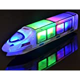 WolVol (New Version) Beautiful 3D Lightning Electric Train Toy For Kids With Music