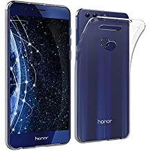 "Simpeak Funda Carcasa para Huawei Honor 8 5.2"" gel Silicona TPU Transparente"