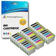 30 XL Compatibili Epson T0711-T0714 (T0715) Cartucce d'inchiostro per Stylus