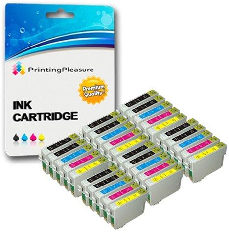 30 xl compatibili t0711-t0714 (t0715) cartucce d'inchiostro per epson stylus d78 d92 d120 dx4000 dx4050 dx4400 dx7400 dx8400 sx100 sx105 sx110 sx115 sx200 sx205 sx215 sx218 sx415 sx515w sx600fw b300f