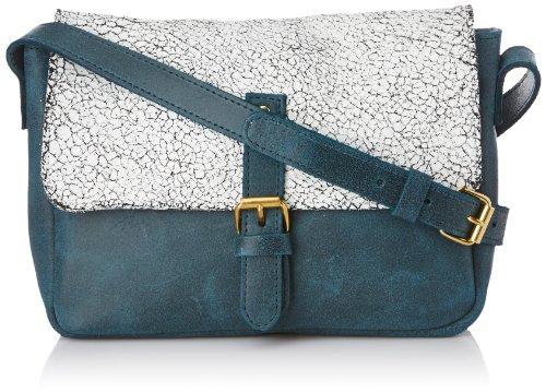 C.Oui Uyuni 03 Damen Umhängetaschen Blau - Bleu (Petrole)