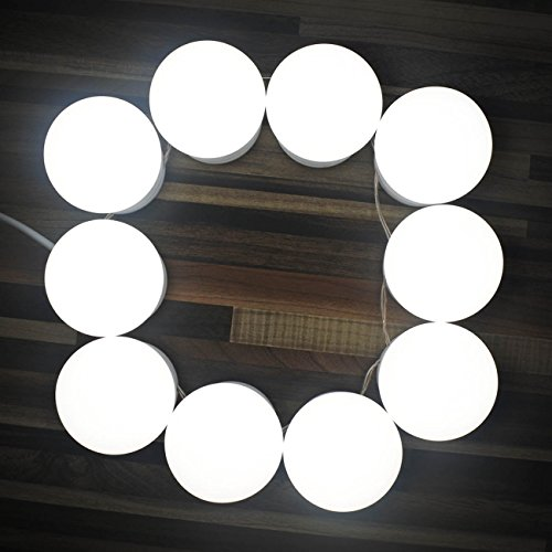 Chende hollywood style led vanity mirror lights kit with dimmable chende hollywood style led vanity mirror lights kit with dimmable light bulbs lighting fixture strip aloadofball Images