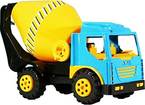 Takestop® betoniera sabbia ruota con la manovella 60x30x23 cm camion gioco giocattolo spiaggia mare sport bambini bimbo