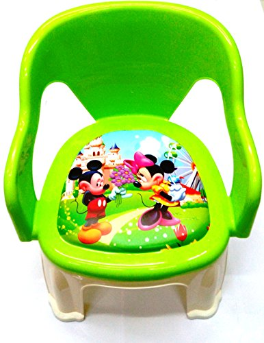 Toymart 8906523694585 Plastic Baby Chair With Soft Cushion Seat