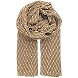 BECKSÖNDERGAARD Damen Sommer-Schal IZZA in Tannin ( terracotta braun ) hochwertige sehr weiche Baumwolle 180x100 cm - 61517-193