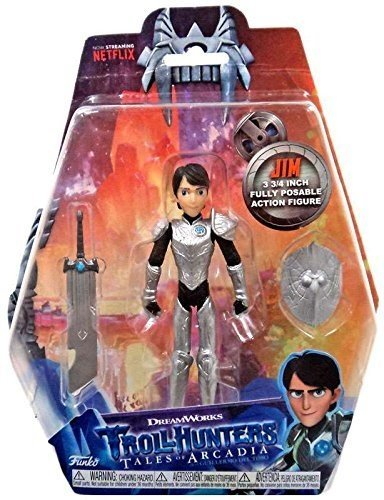 Figura Action Trollhunters Jim Exclusive
