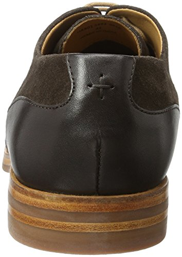 H.D. Hudson Mfg Co. Enrico Suede 44, Chaussures à lacets homme Marron