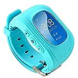 Artículos deportivos Smart Watch Reloj Inteligente para niños Llamada SOS GPS Chico Chica Anti-perdida Chat de Voz Adecuado para Android y iOS
