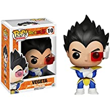 Funko PDF00003861 - Bobugt083 - Animación Figurita - Dragon Ball Z - Bobble Head Pop 10 Vegeta! - Figura Pop Vegeta 10 cm