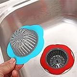 Upxiang Badezimmer Abflusssiebe, Wasser Waschbecken Siebdeckel, Ablauf Stopper Haarsieb, Badewannenstöpsel und Haarsieb, Abfluss Stöpsel und Abflusssieb für Dusche, Badewanne