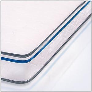 MiaSuite Easy Materasso, Memory Water Foam, Bianco, Singolo, 80 x ...