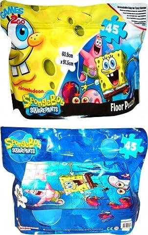 Spongebob Squarepants Puzzle in A Foil Bag Puzzle Character 45
