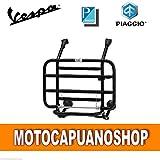 PORTAPACCHI ANTERIORE NERO VESPA 50 125 PK S XL N V RUSH FL FL2 HP