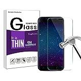 Vetro Temperato Galaxy S7, Galaxy S7 Pellicola Protettiva,Vegbirt Vetro Temperato Screen Protector Film Ultra Resistente per Samsung Galaxy S7