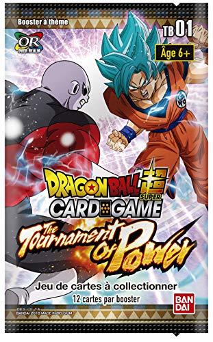 Dragon Ball Super Card Game - Booster DE 12 Cartes Theme 1 : Le Tournoi du Pouvoir - Version Francaise