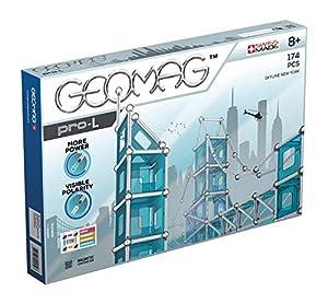Geomag- Pro-L Construcciones magnéticas y Juegos educativos, Multicolor, 174 Piezas (27)