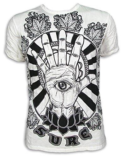 SURE 4 MEN - Camiseta - para hombre Weiß - Vintage! L