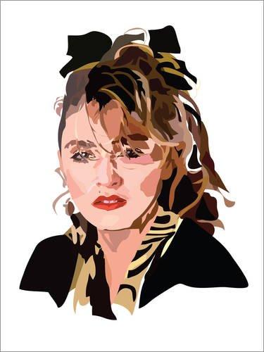 Posterlounge Forex-Platte 60 x 80 cm: Madonna von -