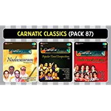 Carnatic Classics Pack 87 (Pack Of 3 Mp3S With 100+ Tracks, Biggest Artists, Rare Collection, Biggest Carnatic Classics Compilation )