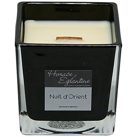 Duftkerze - Orientalische Nacht - Handgemacht in Frankreich (650 g) - 65h Brenndauer