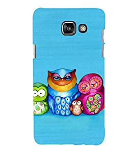 99Sublimation Owl Family 3D Hard Polycarbonate Designer Back Case Cover for Samsung Phones