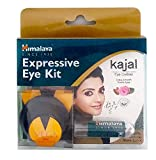 Himalaya Expressive Kajal 100 gm & Wipes Combo Pack + Vega compact mirror
