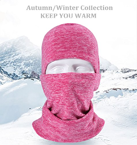 HASAGEI Balaclava Ski Maske Sturmhaube Herren Fahrrad Maske Sturmhaube Motorrad Winter Damen Lycra Fleece Atmungsaktiv Thermal