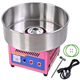 ReaseJoy Commercial Electric Cotton Candy Machine Sweet Sugar Candy Floss Maker Pink