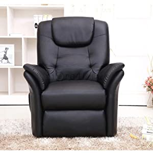 51ntXXhl1AL. SS300  - More4Homes WINDSOR ELECRTIC RISE RECLINER BONDED LEATHER ARMCHAIR SOFA HOME LOUNGE CHAIR