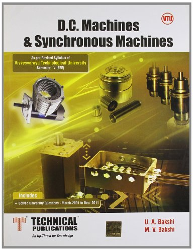 D.C. Machines and Synchronous Machines for VTU