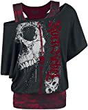 Rock Rebel by EMP Darkness Is Always Waiting Girl-Shirt schwarz S