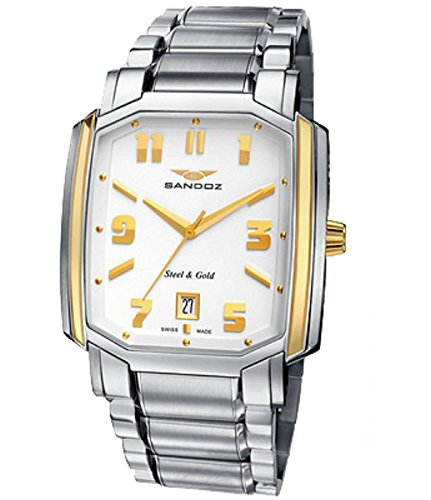 Reloj Sandoz Legendaire 81301-10 Hombre Blanco