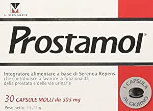 Menarini Prostamol Integratore Alimentare 30 Capsule