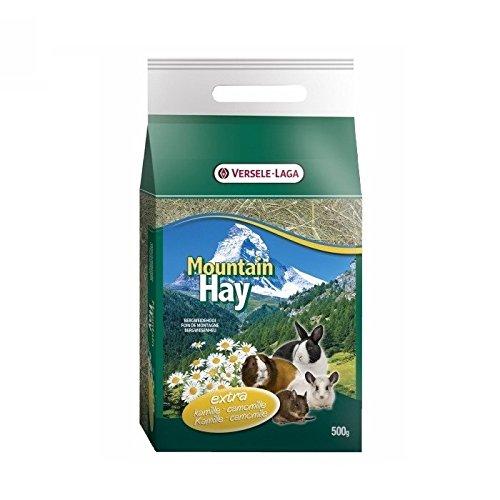 Versele Laga Mountain Hay 500 GR - Foin De Haute Montagne pour Lapins et rongeurs, Camomilla