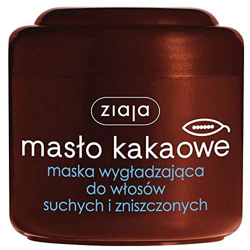 ZIAJA Kakaobutter Glätten Haar Maske für trockenes und geschädigtes Haar 200ml -