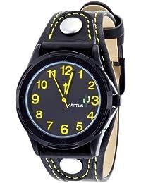 Cactus CAC-61-M10 - Reloj para niño, correa de plástico color negro