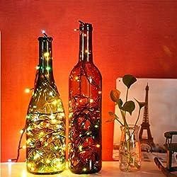 hkfv maravilloso increíble encantador LED iluminación decoración de la casa luz 3m 40LED cadena Luz Noche caliente de Navidad decoración de la boda guirnalda de luces para Halloween