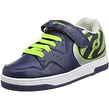 Heelys Hyper (770543) - Zapatillas para niños, color Navy/Silver/Green, talla 31