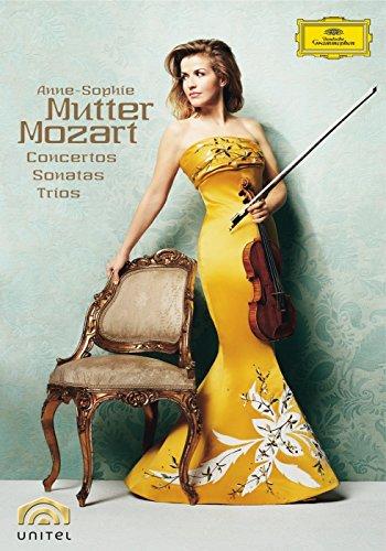 Anne-Sophie Mutter - Mozart-Box [5 DVDs]