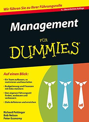 Management für Dummies - Dummies Management Für