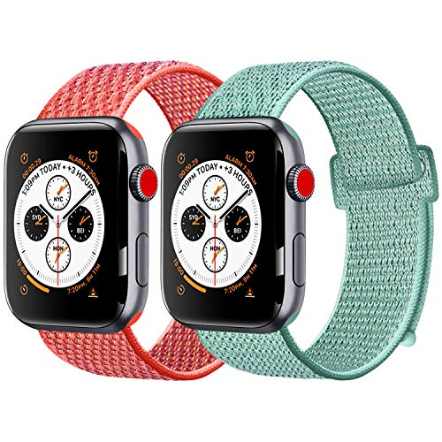 Amzpas Compatible Apple Watch Correa 42mm 44mm,Reemplazo