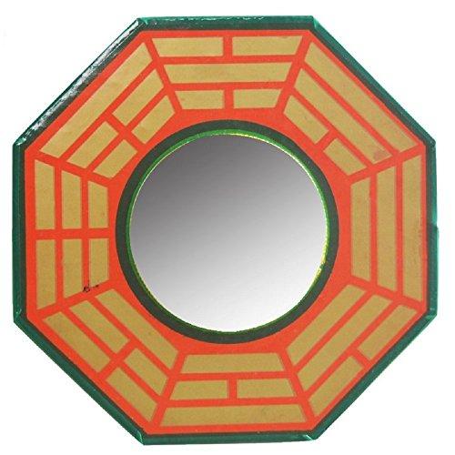 Ryme Vastu/Feng Shui Espejo Convexo Remover energía