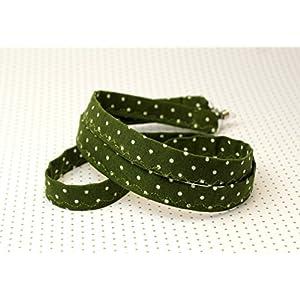 Brillenkette Brillenband Boho Hippie Bohemian Gypsy olivgrün