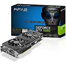 KFA2 GeForce GTX 1080 EXOC carte graphique PCI E Gaming GTX 1080 EXOC 8GB noir