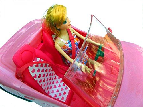 Brigamo 10681 – ✨ Puppen Auto Glam Cabrio mit Modepuppe ✨ - 4
