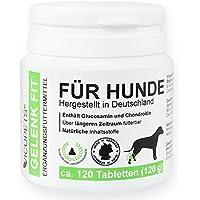 Vicupets Gelenk Fit für Hunde | enthält Glucosamin und Chondroitin | Made in Germany | 120 Stück